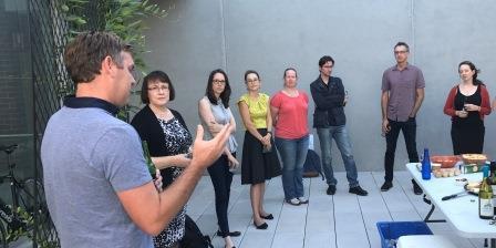 Margaret Byrne - Parks and Wildlife, Jason Stevens - Kings Park, Renee Young - CMSR with workshop participants